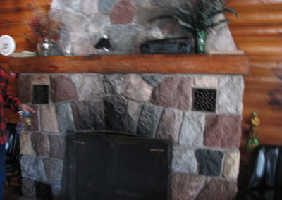 The Lodge Fireplace