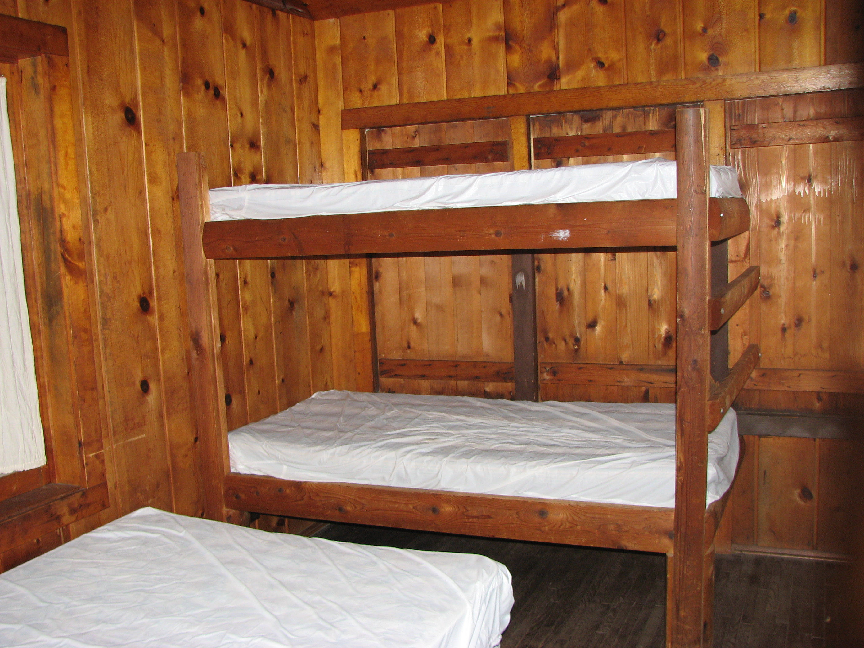 Potawatomi Property Owners Association Lakeview Cabin bunk beds