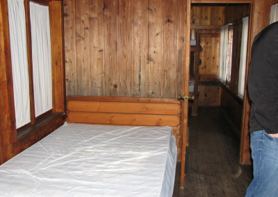 Lakeview Cabin Bedrooms