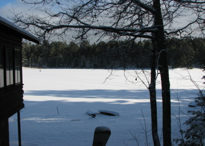 Potawatomi Property Owners lakeview winter view
